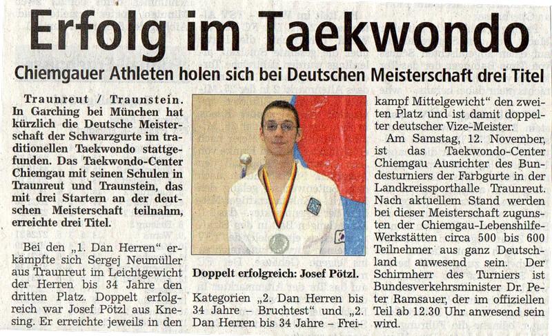 Kampfksport und Selbstverteidigung in Traunreut