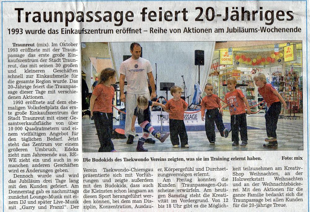 Kampfsport und Selbstverteidigung in Traunreut und Traunstein
