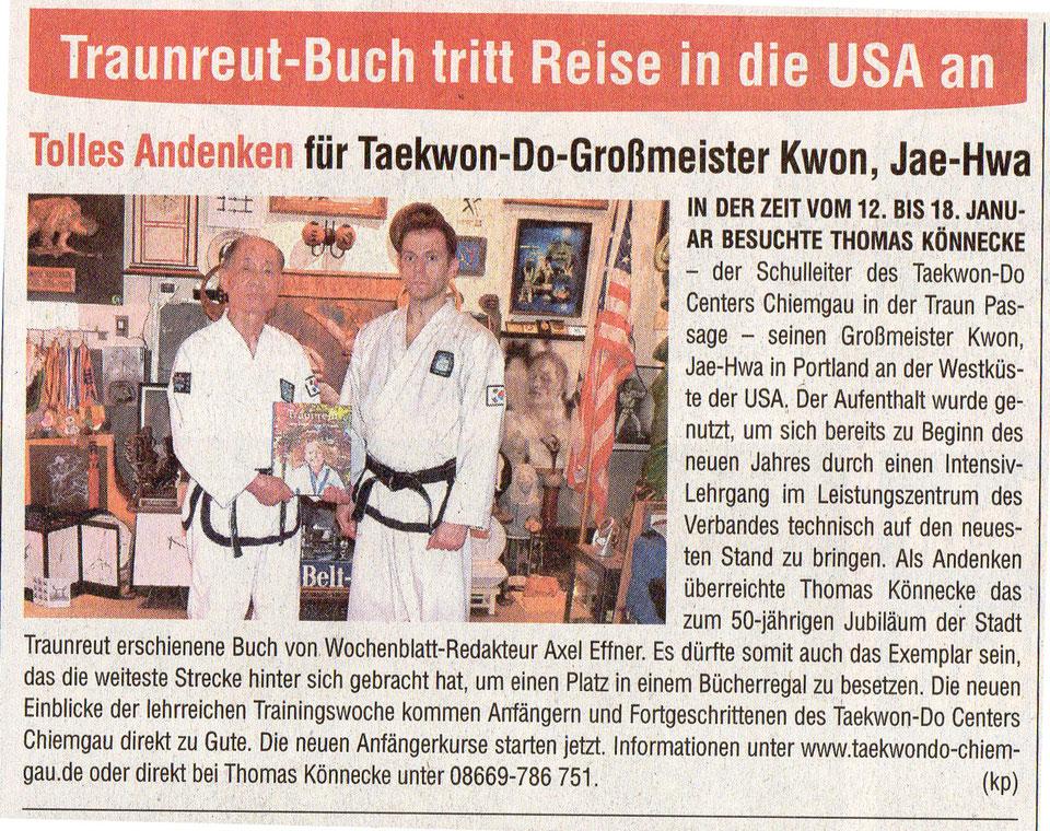 Taekwondo, koreansiches Karate und Selbstverteidigung in Salzburg
