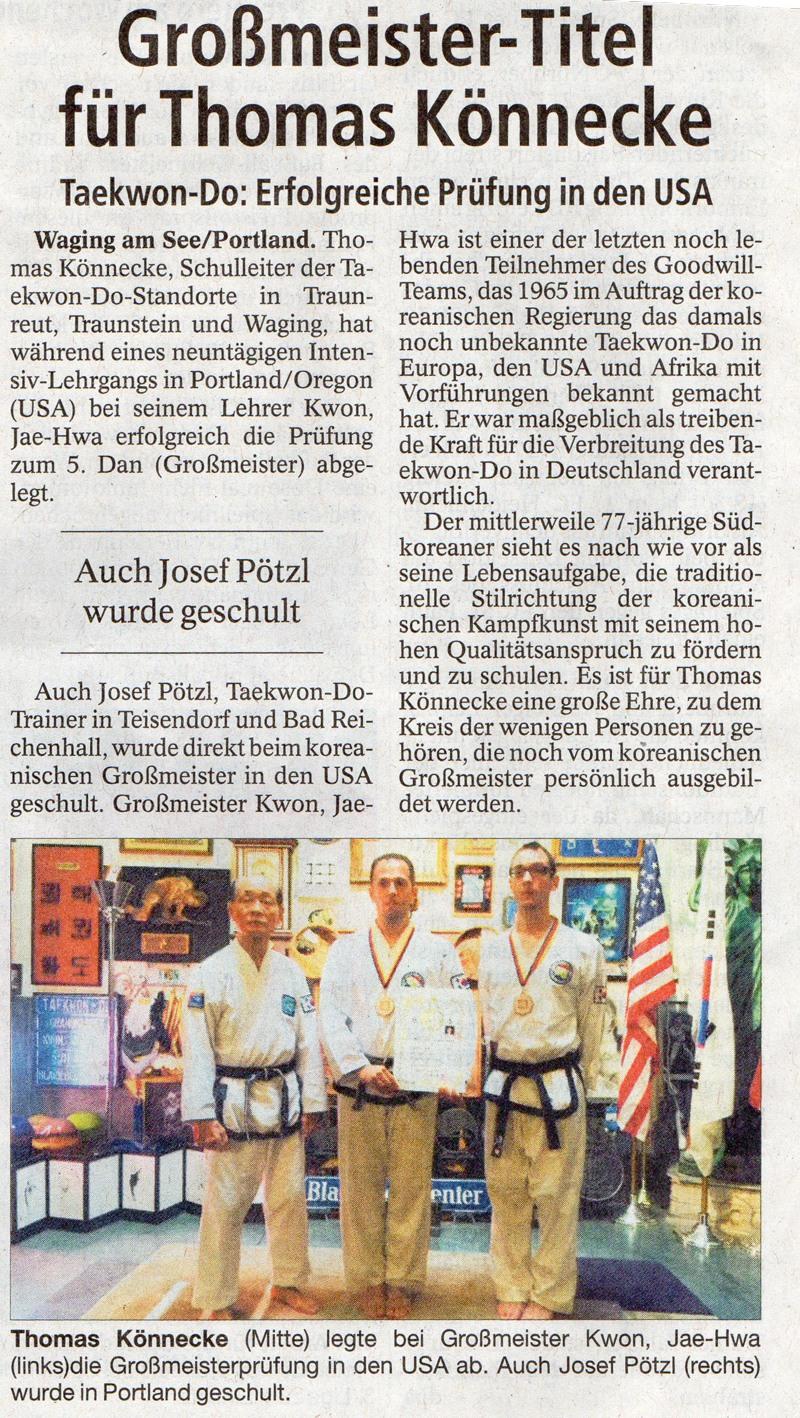 koreanisches Karate und Selbstverteidigung auf höchstem Niveau